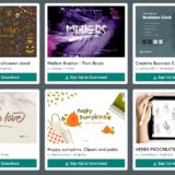【期間限定】Creative Market 今週の無料素材、6個のデザイン素材が無料でダウンロードできるのは #ナイショ。(2021年10月第4週)