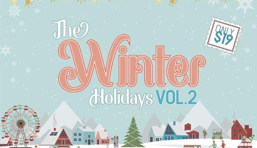 期間限定 冬のデザイン 32種類 2 500以上のクリップアートの the